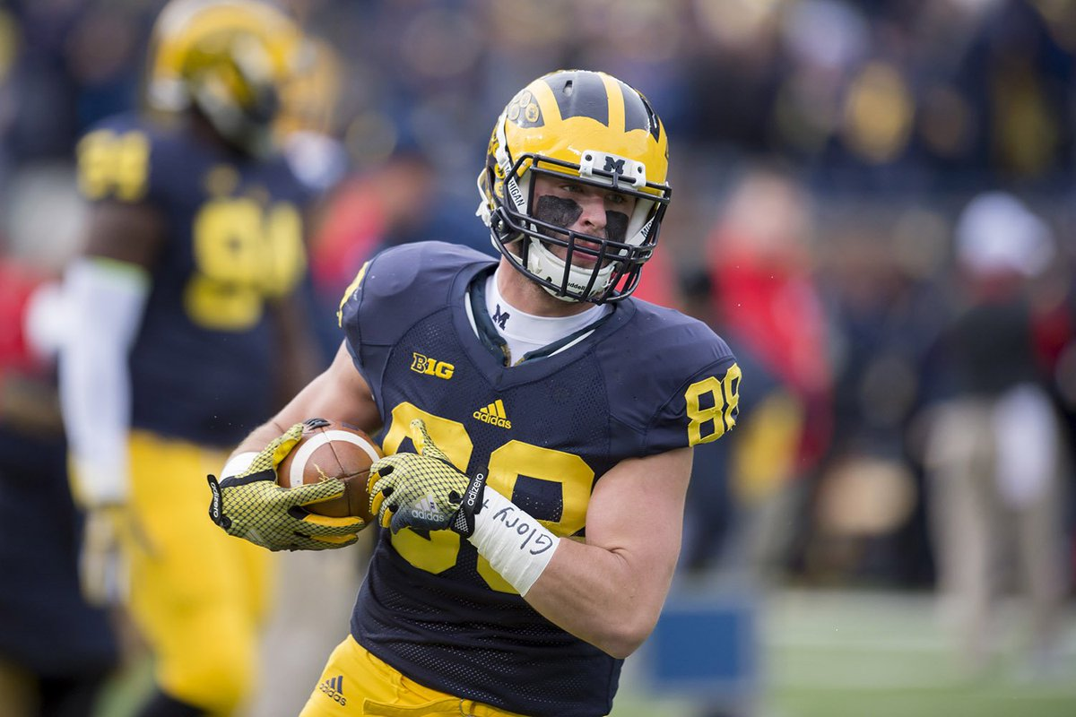Seniors Jake Butt, Chris Wormley named Wolverines' captains. From @chengelis
