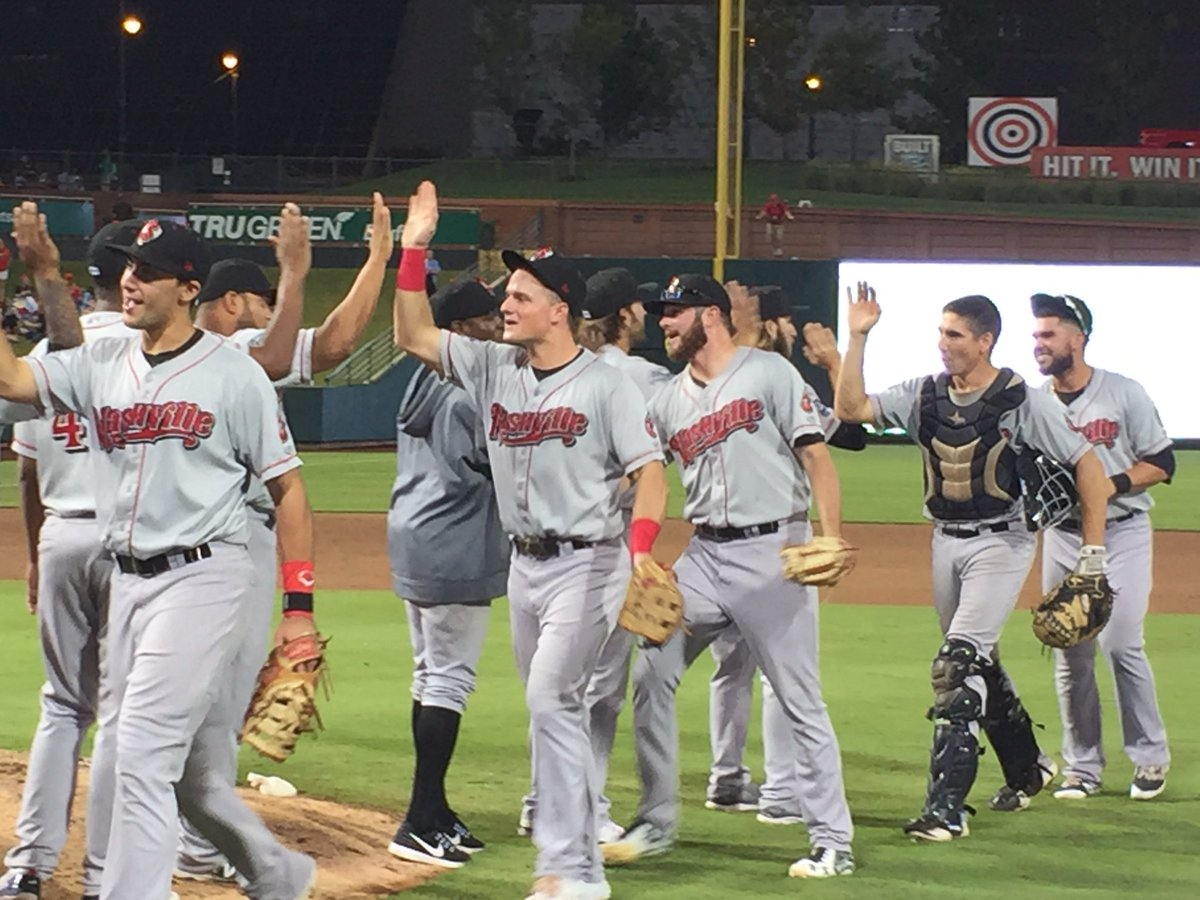 The Nashville Sounds are the 2016 American Southern Division Champs! See you in the playoffs! #PlayLouder https://t.co/STFljhAfdU