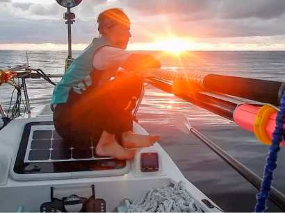 Laval St. Germain rowed across the Atlantic and climbed the peaks on 6 of 7 continents.