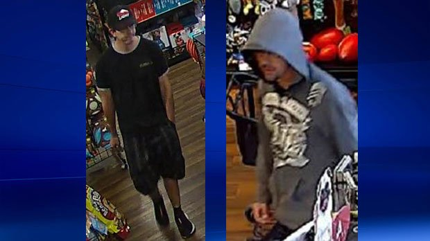 Police search for suspect in commercial robberies