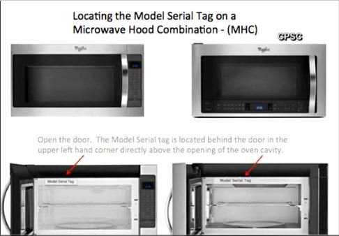 If you have a Whirlpool microwave hood unit, be advised there is a safety recall. DETAILS