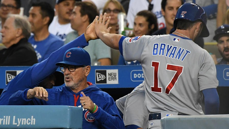 Kris Bryant slugs 2 home runs as Cubs rally to 6-4 win over Dodgers in 10 innings