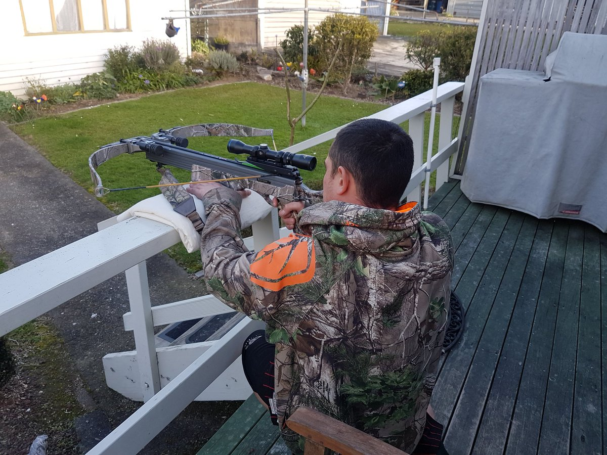Spent The Afternoon Teaching My Nephew How To Shoot A Xbow Not Bad For His First Time 40 Yards Excalibur Xbows Pictwitter 5eRk46RZ6s