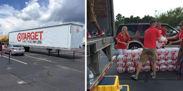 .@target, @walmart pitch in with relief for #Louisiana flood victims https://t.co/5rmCi3o61H https://t.co/cNvV2qarc3