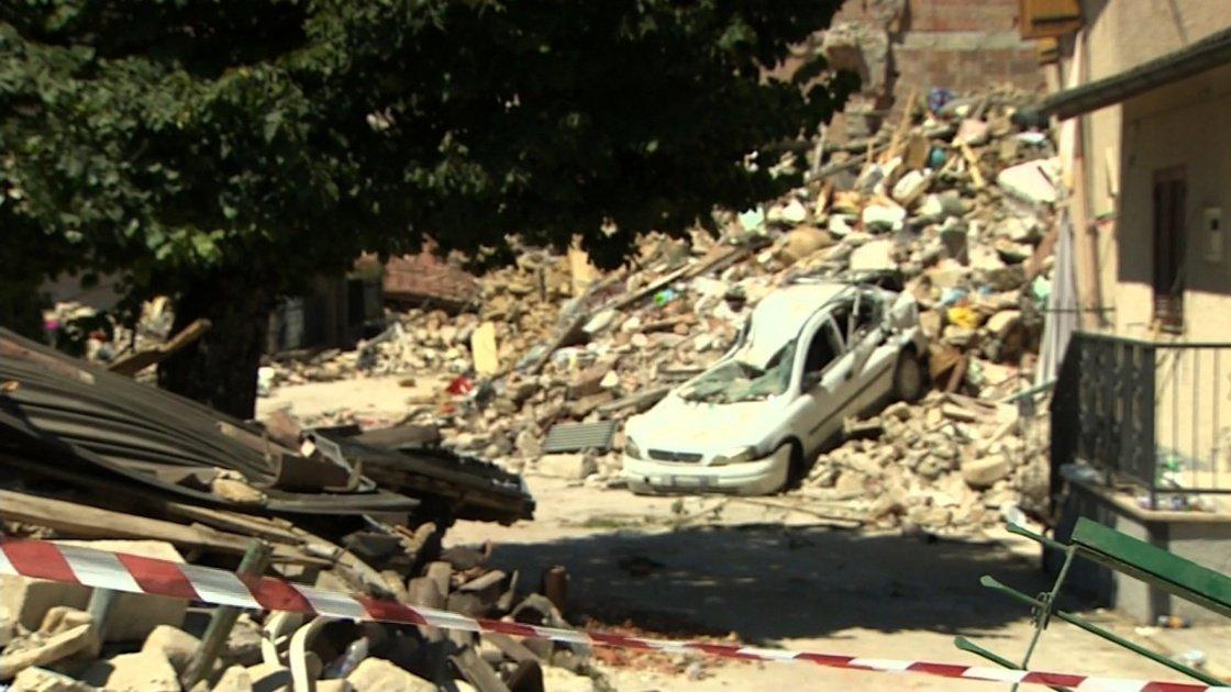 Italy earthquake: