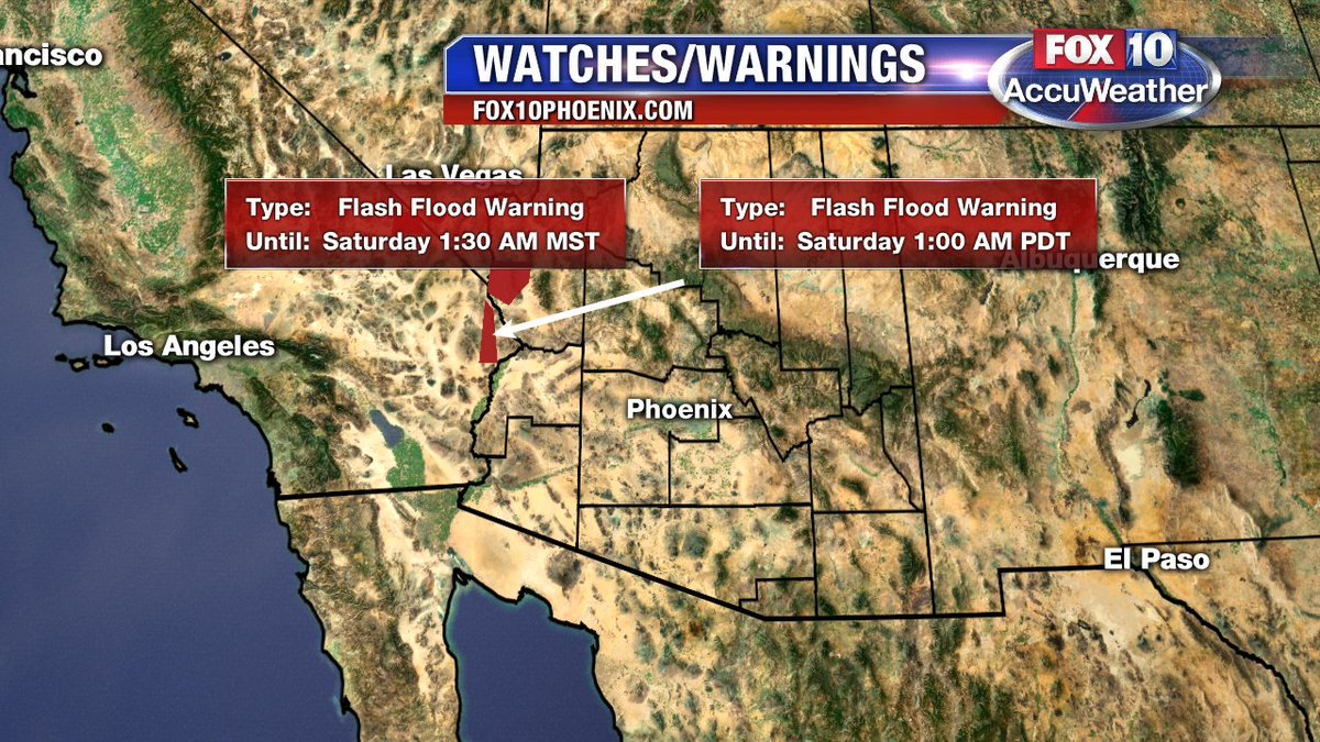 A Watch or Warning has been issued for your area. Please go to for more information.