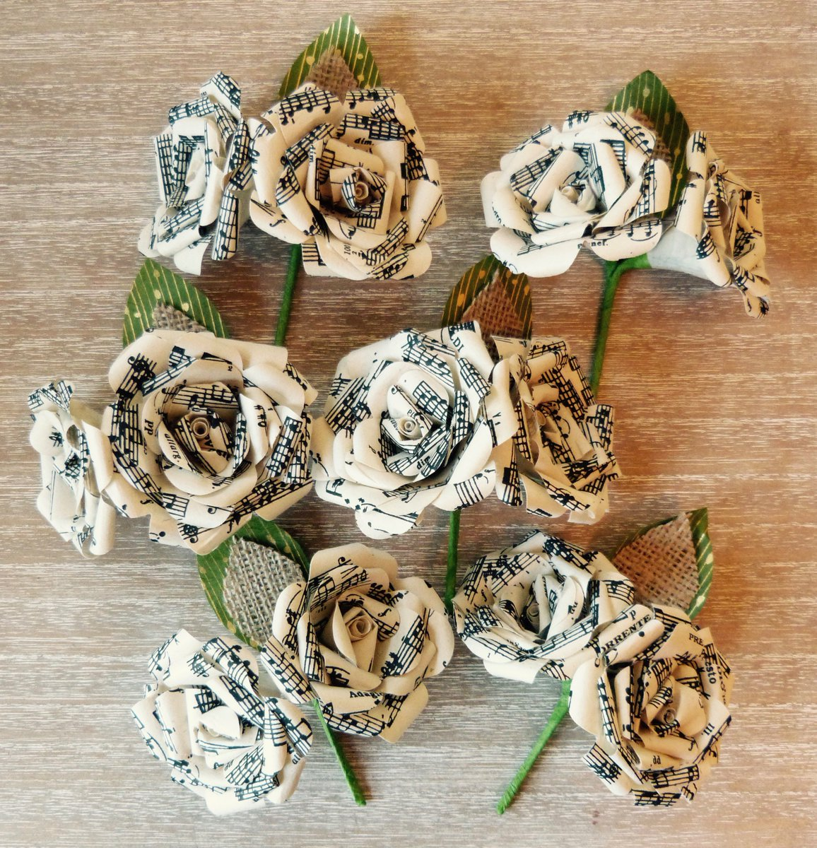 Paper Meadow On Twitter Music Note Buttonholes Papermeadow