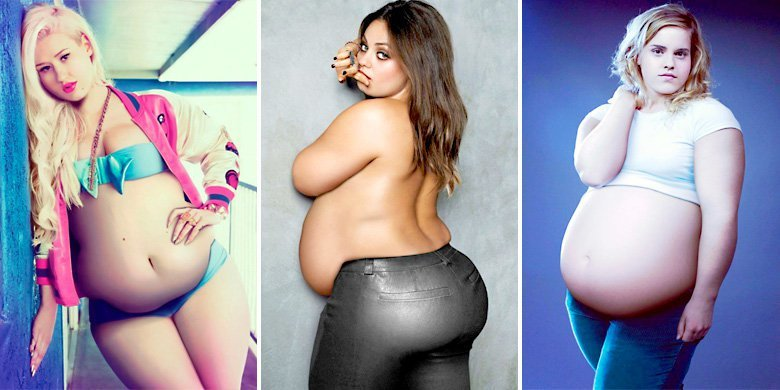 Spanish Artist Reimagines Our Favorite Celebrities As Plus Size Models https://t.co/S8sdGCeKGx https://t.co/CA63K5p3oL