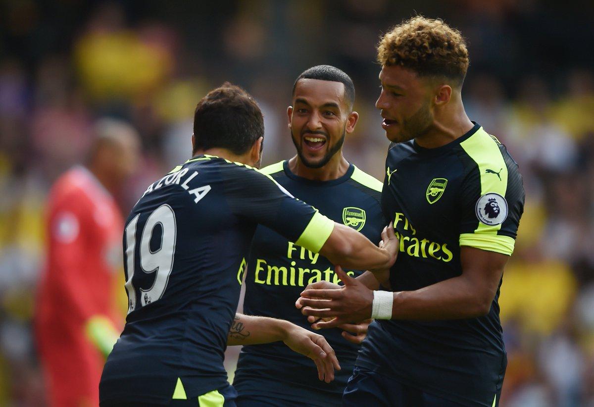 HT: Watford 0-3 Arsenal – Report