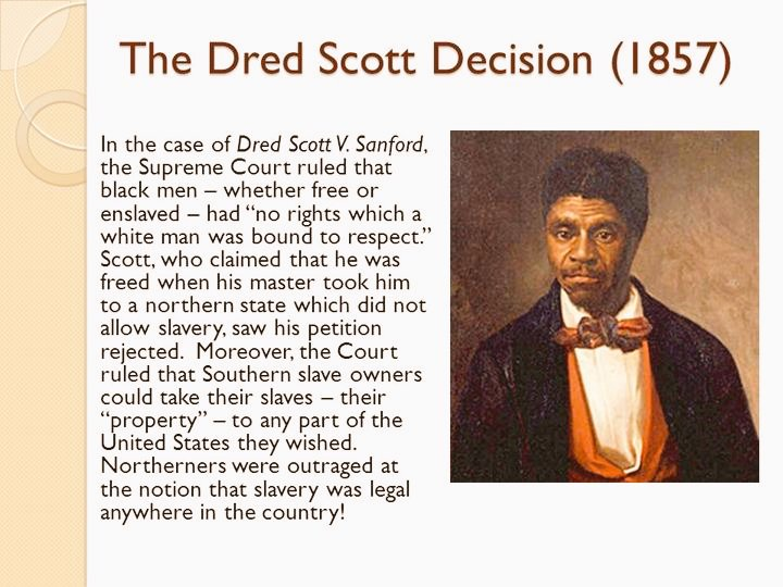 dredd scott decision essay