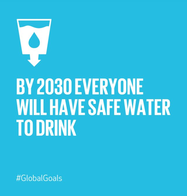 the availabilityof safe and clean water