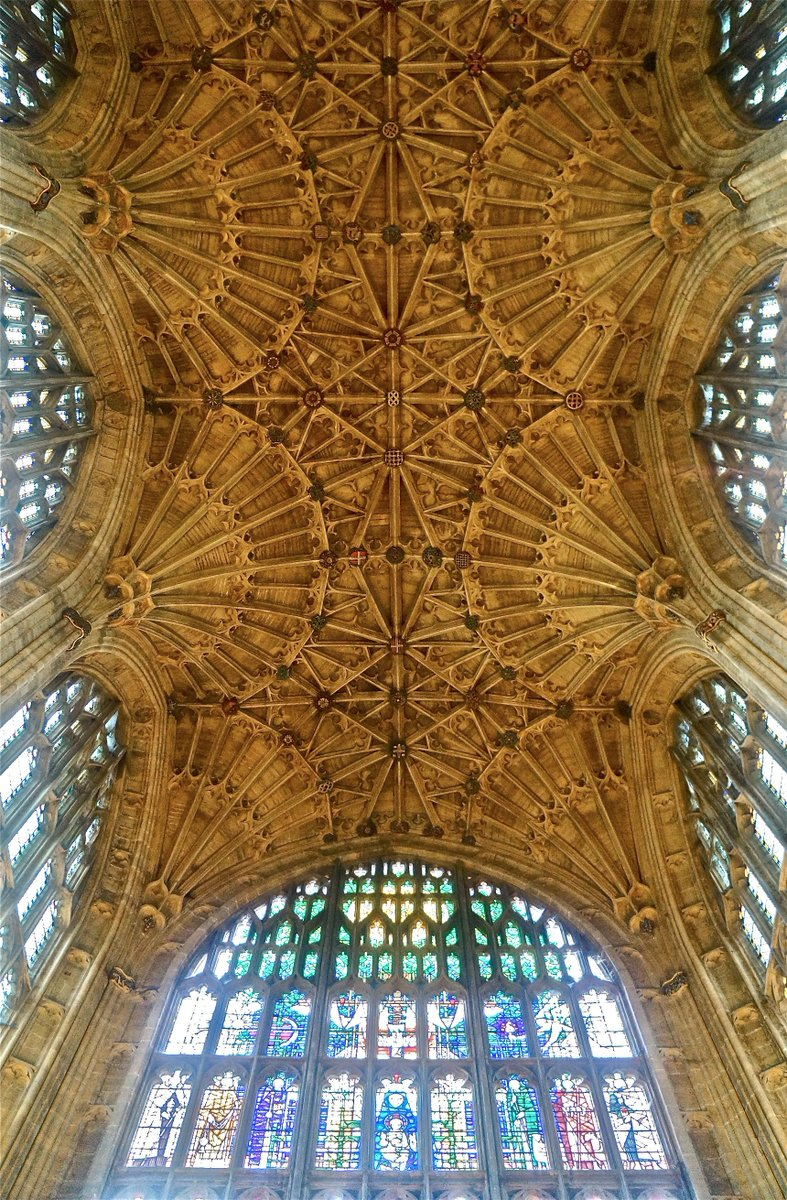 Sherborne Abbey, nave vault. Thing of Wonder. https://t.co/rC7BQzXFr6