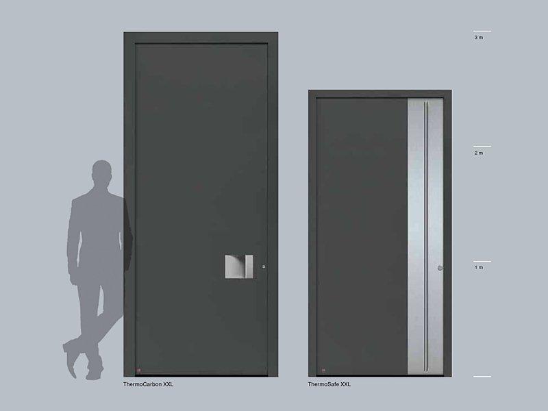железные двери высота 2 3