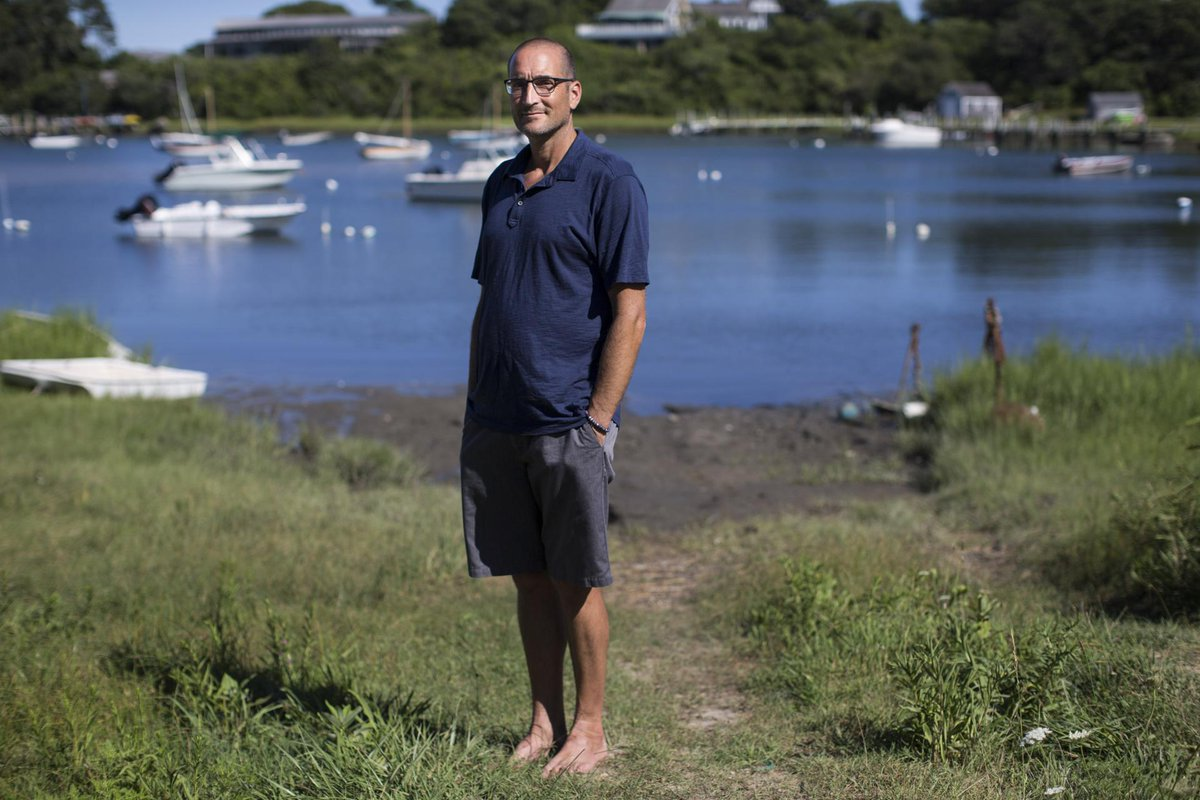 He got the idea to make a film about the large homes on Martha's Vineyard while building one