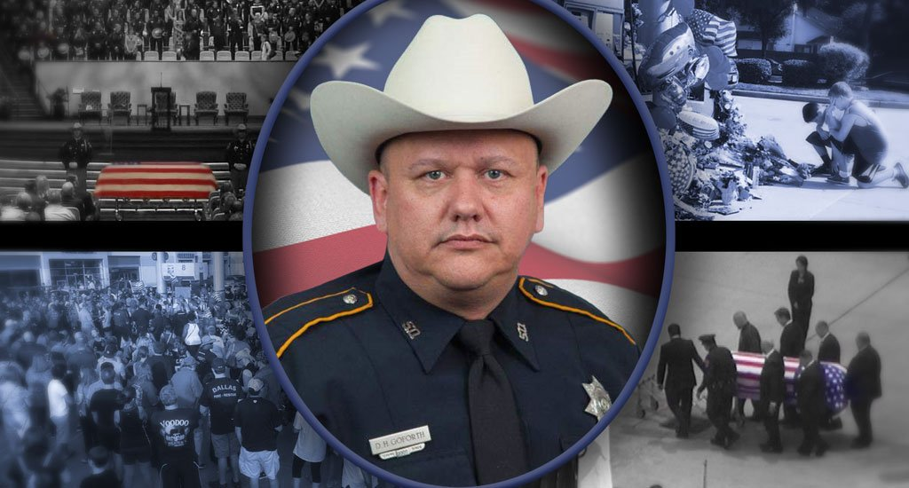 9 a.m. memorial for Deputy Darren Goforth -> KHOU