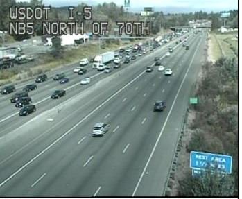 Backup from tacomaclosures on SB I-5 in Tacoma. Check flow maps b4 you head out.