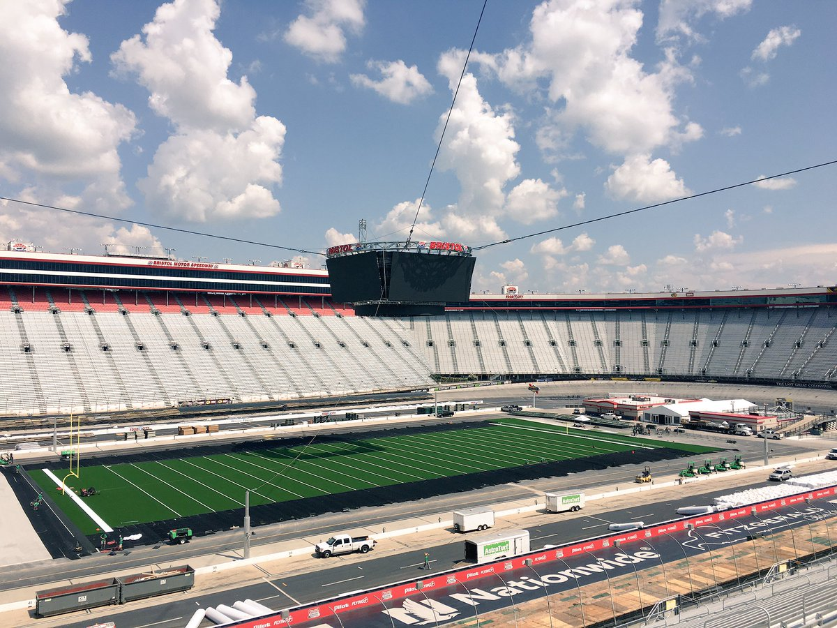 Tennessee And Virginia Tech To Play In 2016 At Bristol