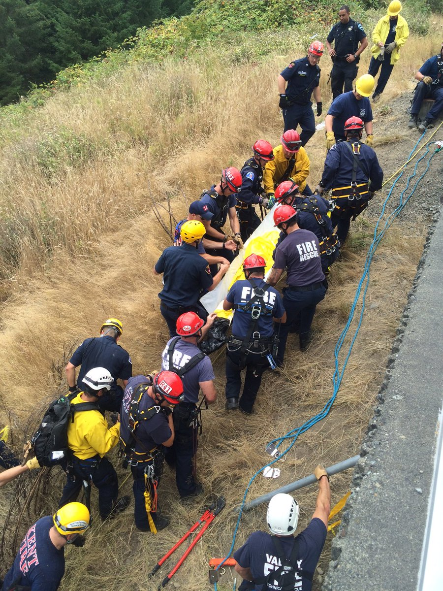 of SE 304 Rescue courtesy of Dave Nelson/Skyway Fire