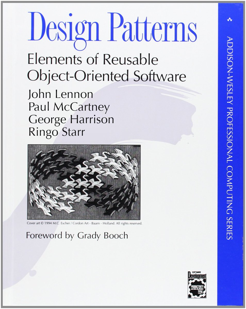 Dev Community On Twitter Design Patterns Is A Software Engineering Book Describing Recurring Solutions To Common Problems In Software Design