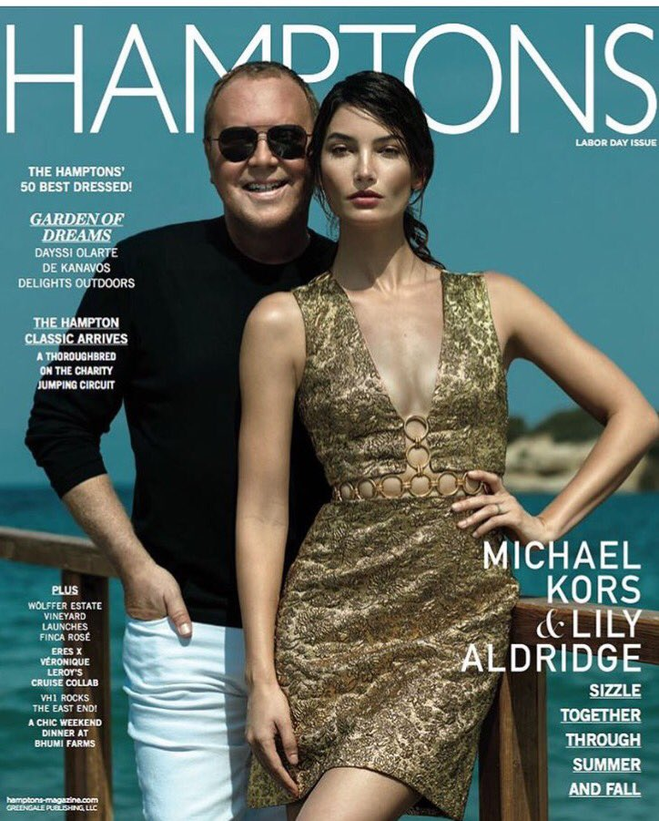 RT @Ivanmbart: It's a beautiful day in the #Hamptons & @lilyaldridge @michaelkors are as sunny as this day is! @hamptonsmag https://t.co/Y9…