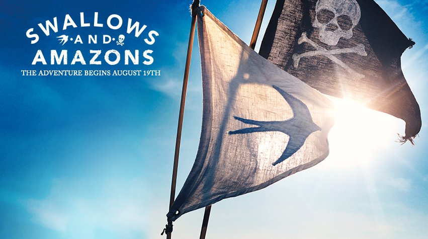 The nine-year-old child in me enjoyed sailing off to see the new #SwallowsandAmazons film this afternoon. https://t.co/0IvmcQqWPD