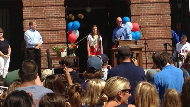 'Aly Raisman Day' declared as Olympic medalist returns home to Needham