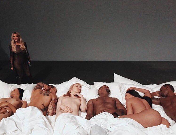 Kanye West's Famous Photo