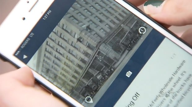 Looking into the past: App allows users to see history