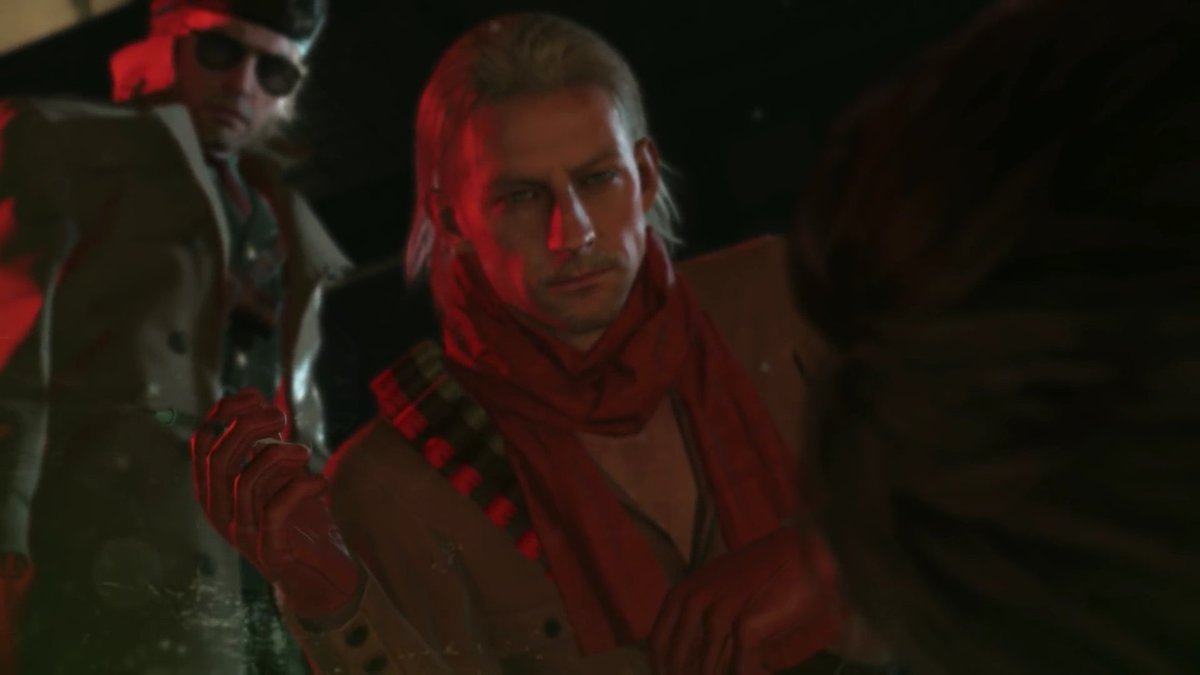 Kazuhira Miller On Twitter When You Re Trying To Scare The Prisoner But You Re Lowkey Afraid Ocelot S Gonna Come Up With Some Fucked Up Shit This why i take david to somewhere else. kazuhira miller on twitter when you