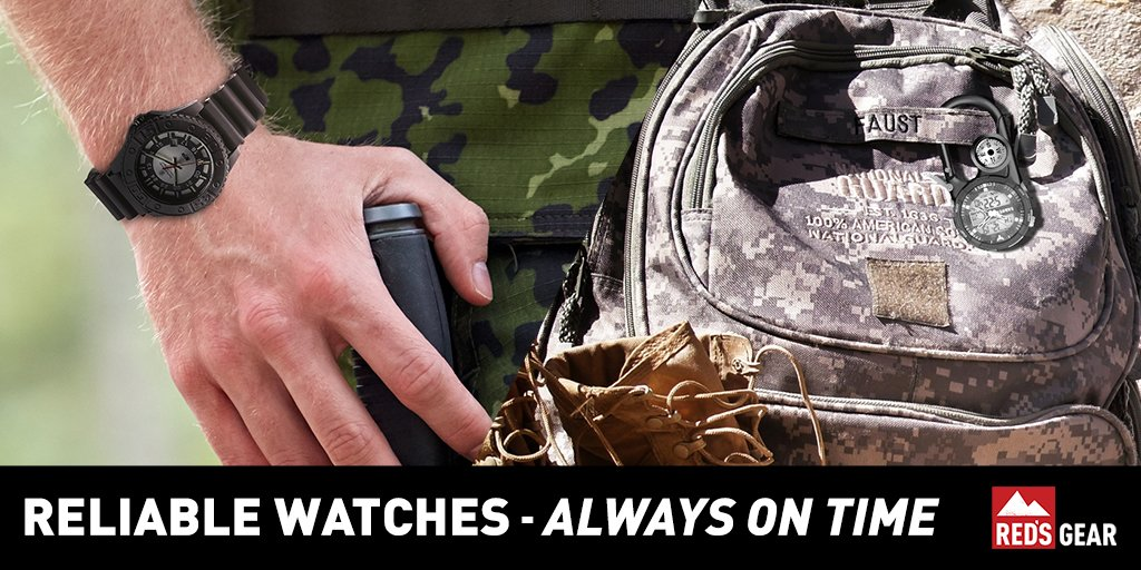 Meet your crew for the hunt with a rugged watch from @RedsGear96! https://t.co/yweeXSdMtF https://t.co/OMMlijS9km