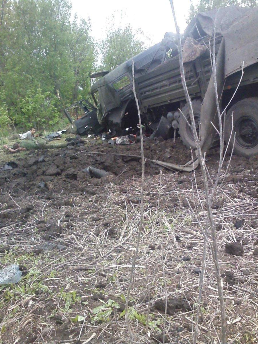 За сутки боевики 59 раз обстреляли наши позиции: в Станице Луганской работали БМП, а 122 калибром били по Пескам и Широкино - Цензор.НЕТ 716