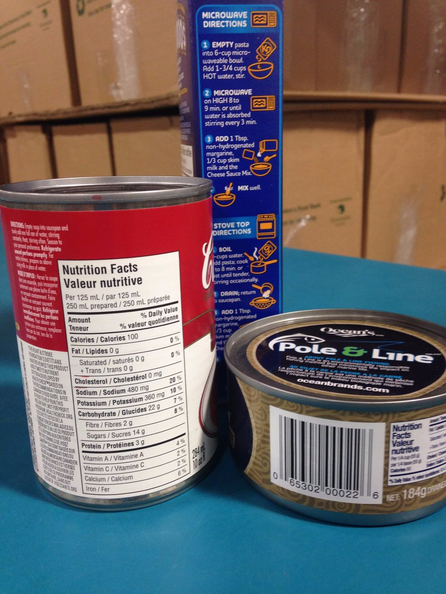 Needed! Canned soup Canned beans  Kraft Dinner Canned meats  The basic blocks for our hampers! #yeg https://t.co/ZCfsG9ZsRq