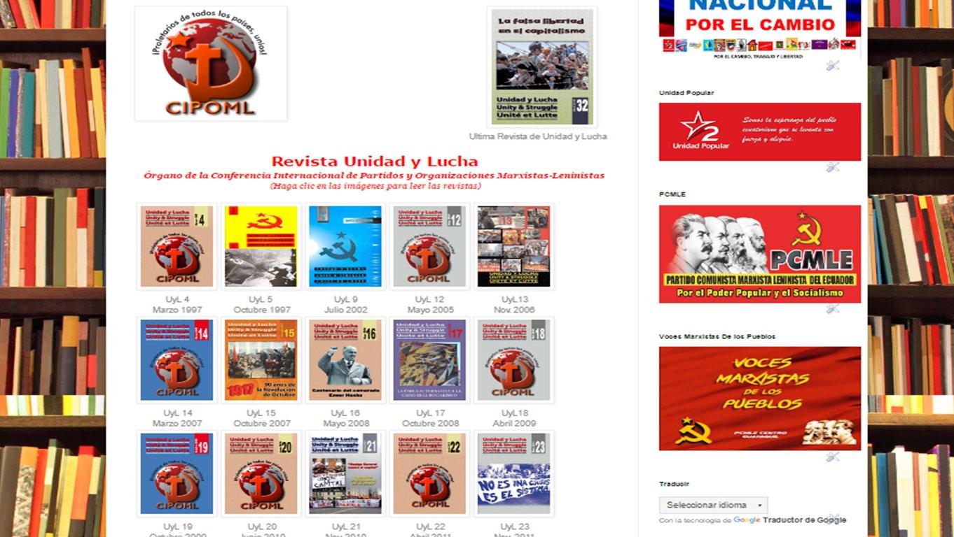 Revista Unidad y Lucha de la CIPOML Cq5lIGjWAAAXdHa
