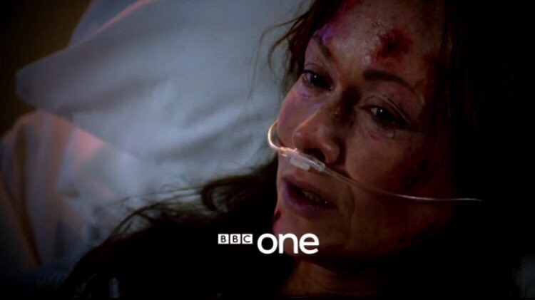 Tune in to #holby on Tuesday to see the fallout of #casualty30 & an appearance from poor Connie. @meamandamealing