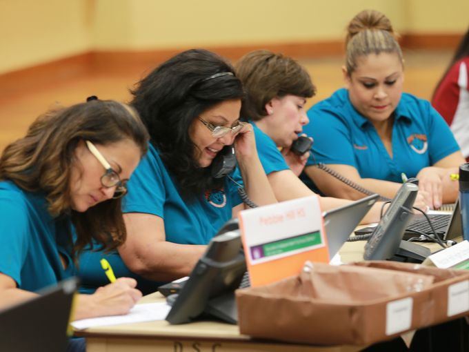 @SocorroISD reps call students to encourage them to return to school