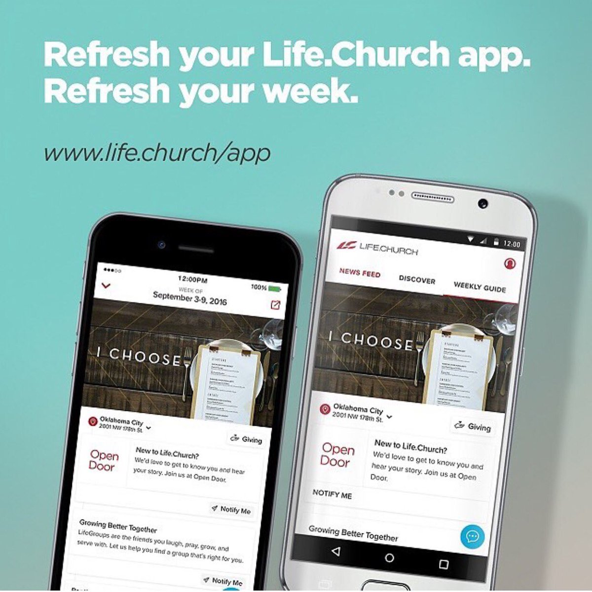 The weekly guide in your pocket! Connect w @lifechurch &your local campus like never before. https://t.co/B5tUS8gBDX https://t.co/A9XacFOr8Y