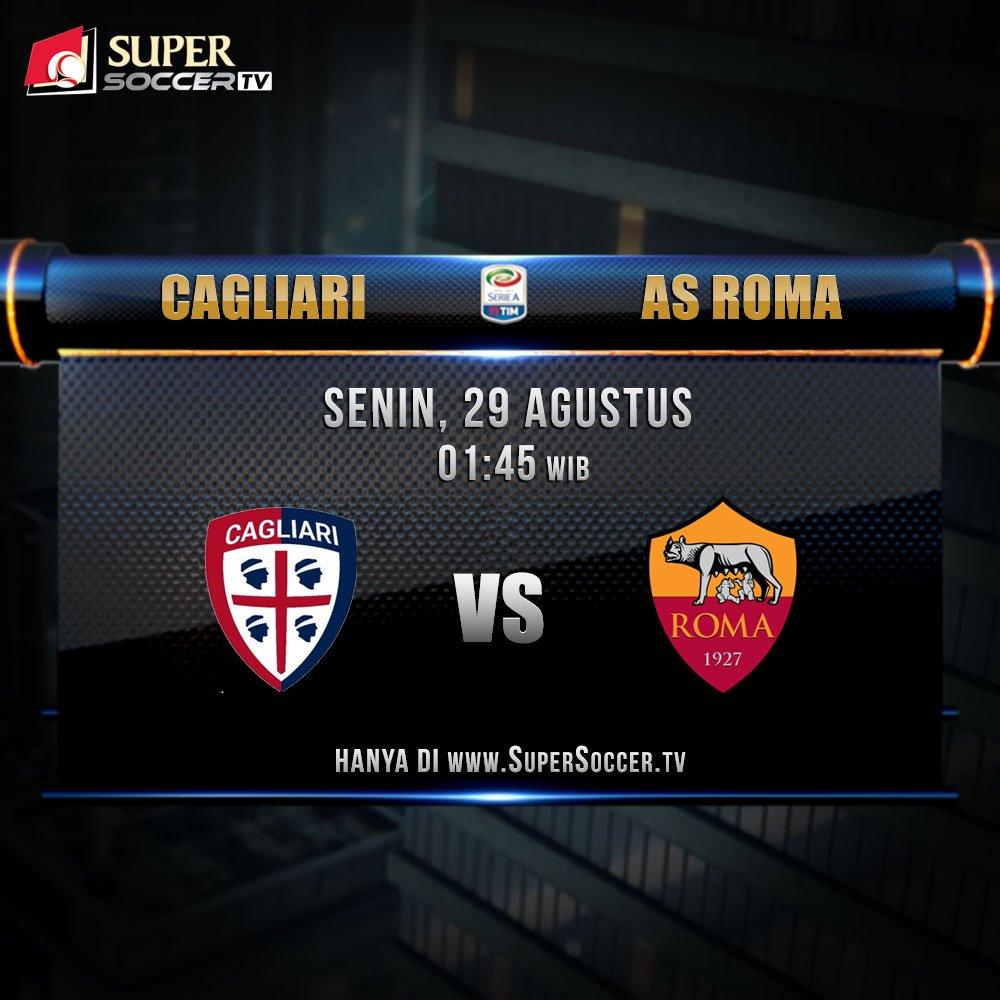 Rojadirecta CAGLIARI ROMA Streaming, vedere partita Gratis con Cellulare PC Tablet Oggi 28 agosto 2016