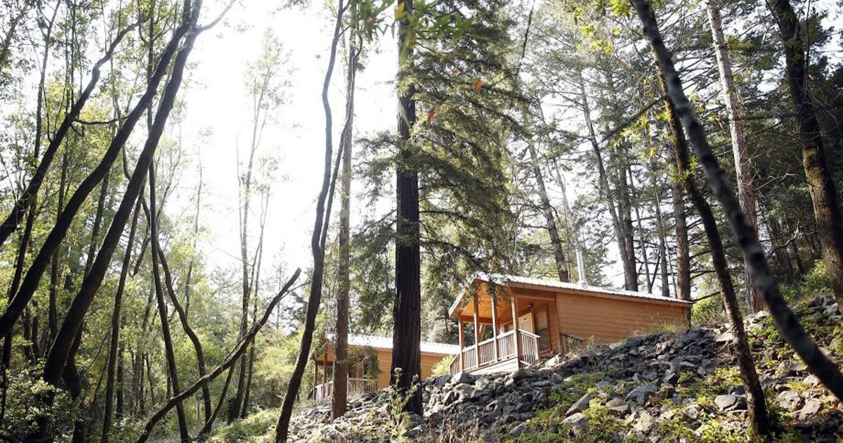 It's the great outdoors only indoors as glamping hits Angel Island. via @kurtisalexander