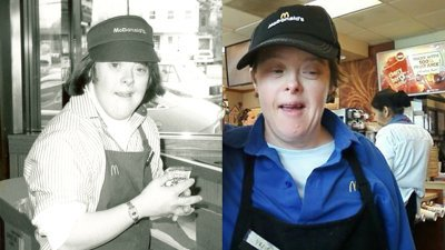 McDonald's worker with Down syndrome retires after 32 years -
