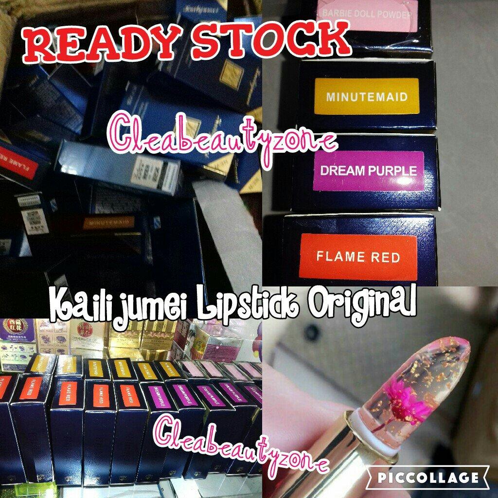 Cleabeautyzone Twitter Kailijumei Lipstick Ready Stock