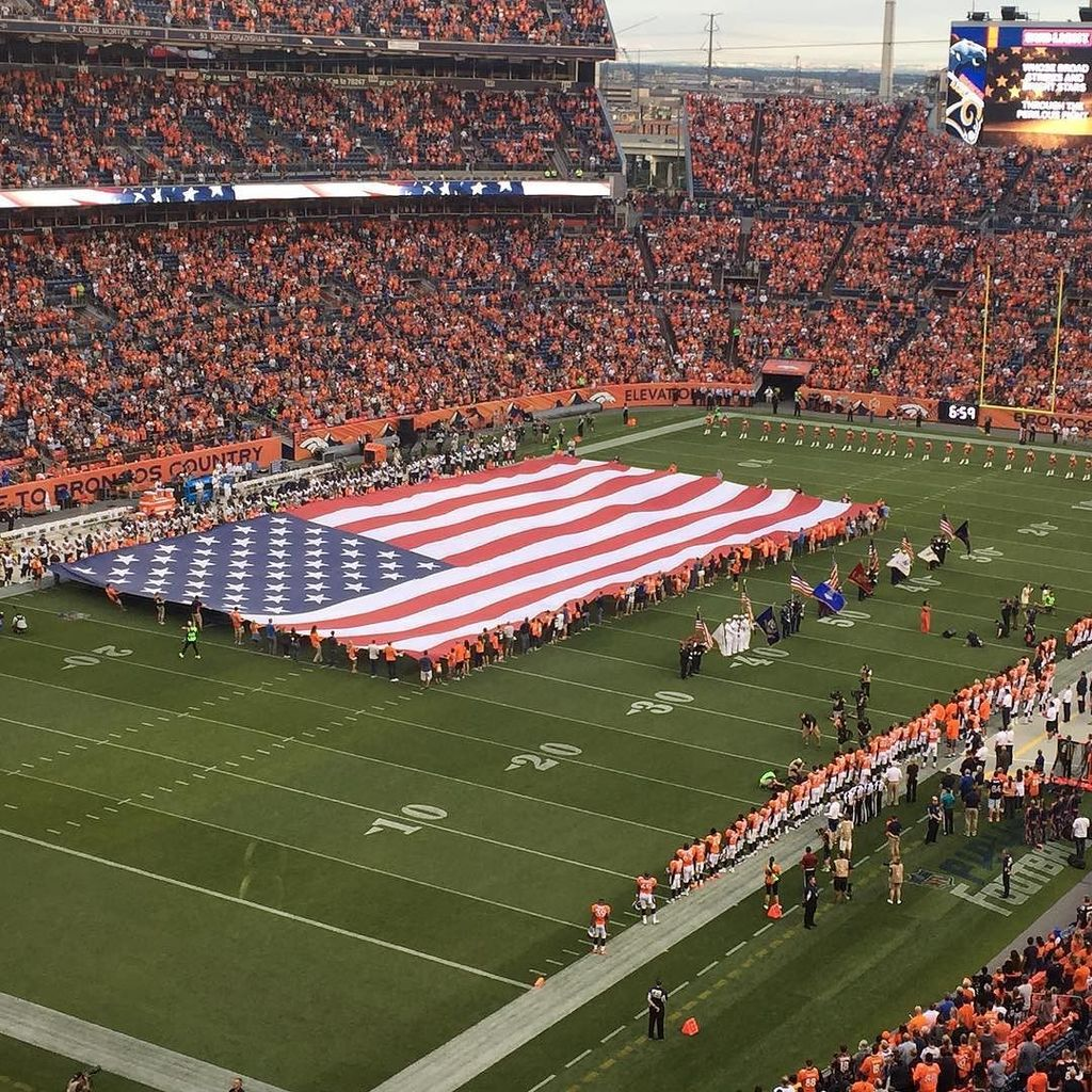 Go Broncos! We want to see your fan photos! Use WeAreBRONCOS to be added to our live cov…