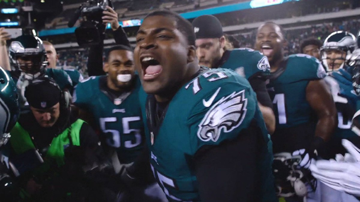 @Eagles players get fired up with pre-game rituals: @MrGetFlee99 @ChrisMaragos EaglesTalk