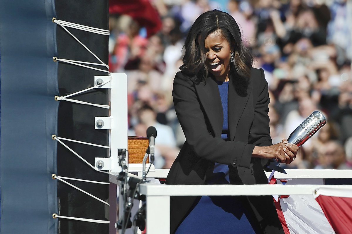 Navy's new $2.7B sub, USS Illinois, will be sponsored by Michelle Obama.