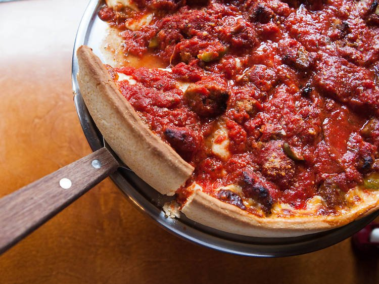Six places where you can find real deep-dish pizza in NYC
