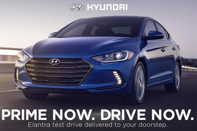 .@Hyundai rolls out @Amazon Prime Now test drive program https://t.co/vlnPzgminN https://t.co/Gv24x1xthW