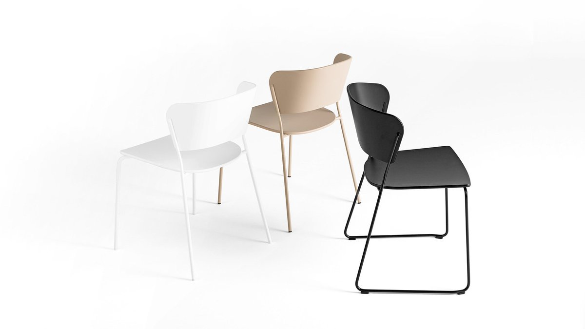 The award winning Arc side chairs and table from Sandler Seating - https://t.co/1mtOyMeRr2 #Hospitality #Furniture