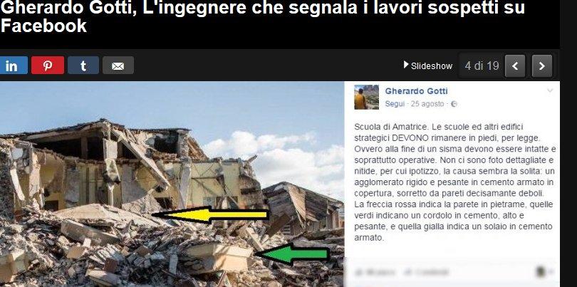 Terremoto, giovane ingegnere su Facebook: Ecco il perché dei crolli