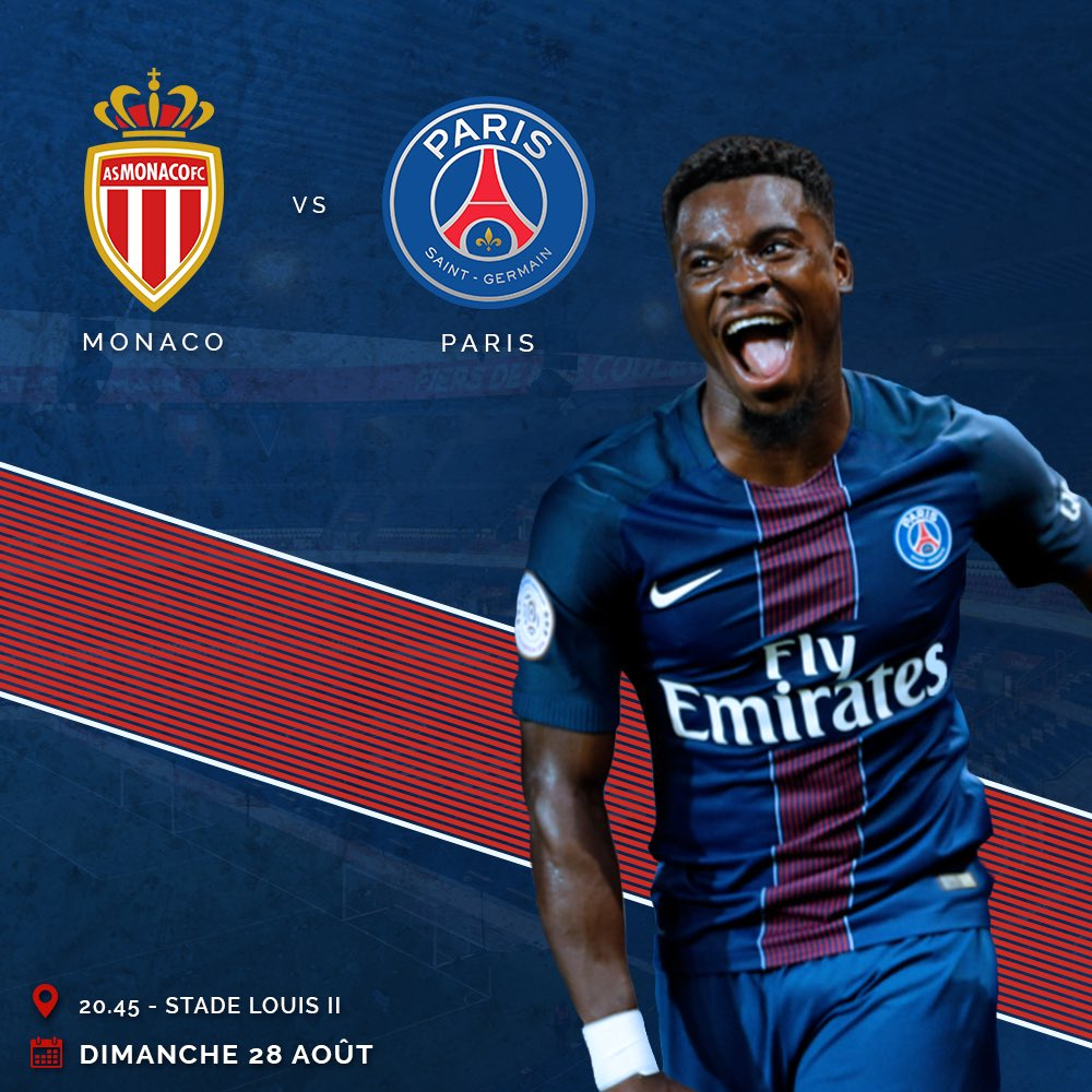 "Serge Aurier Photos Et Images De Collection: Serge Aurier On Twitter: ""Jour De Match ! 🖖🏾 🔵🔴 #ASMPSG"
