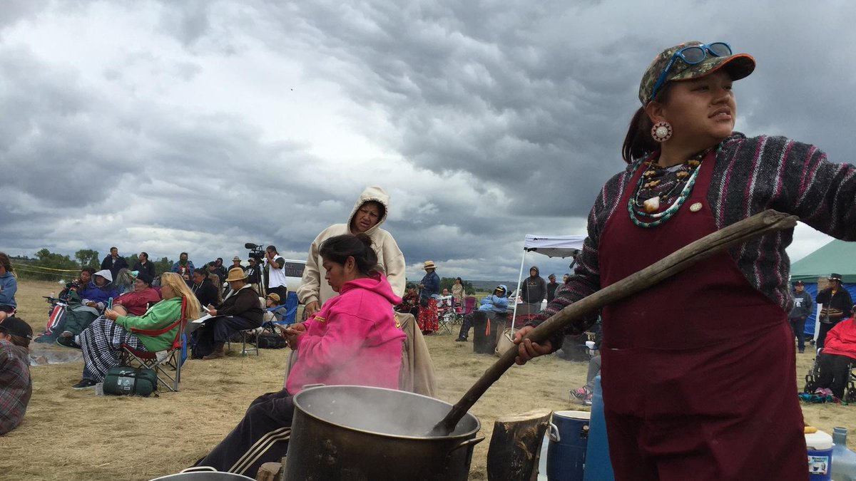With echoes of Wounded Knee, tribes mount prairie occupation to block North Dakota pipeline