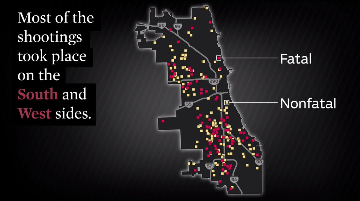 The Tribune analyzed every police shooting over a 6-year period: 92 deaths, 2,623 bullets